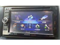 Kenwood Car/Van CD DVD USB Double Din Stereo Bluetooth DDX3025
