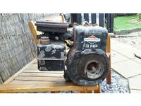 USED CEMENT MIXER ENGINE