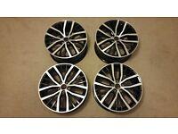 17 VW Polo Alloy Wheels