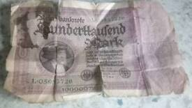 Germany 10000 note