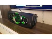 Sony GTK-N1BT 100W Wireless Bluetooth Speaker with Club Bass AM/FM Radio USB Port