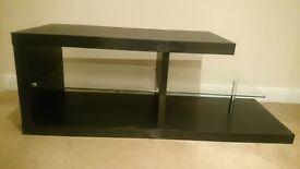 Tv Table with glass shelfs