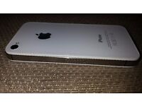 Apple Phone 4S A-1387 White 8GB (Locked to EE)
