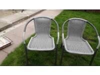 Brand knew bistro chairs