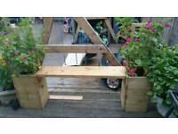 Garden furniture made to order