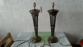 Tall Bronze Table Lamps