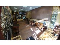 Modern vintage cafe deli business priced for quick sale