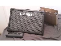 Roland CUBE Street EX Busking Amp + Battery Charger