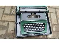 typewriter silver reed 500