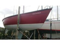 DUFOUR 1800 25FT SAILING BOAT, VOLVO DIESEL, GREAT VALUE £5650