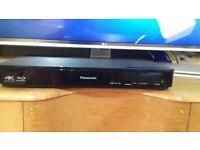 Panasonic DMP-BDT180EB 3D Blu-ray disc player 4K Upscale Brand New