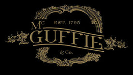Various roles available at McGuffie & Co cocktail bar