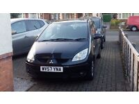 Mitsubishi Colt CZ2 2007 1.3 petrol low mileage 11 months MOT, Good condition