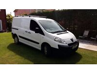 Peugeot Expert 1.6HDi L1 H1 £2700 ** NO VAT ** MOT, 3 Seats, Ply Lined, Roof Rails, Tow Bar,