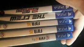 playstation 4 5games 1 pad
