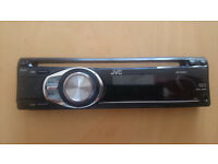 JVS car radio & CD player with MP3 input, traffic announcement and removable faceplate
