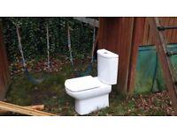 Roca Senso Close Coupled Toilet