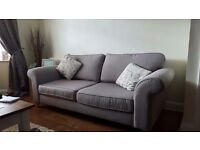 Dfs sofa suite and sofa bed in grey
