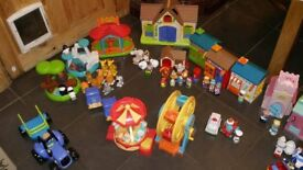 Huge Happyland Toy Bundle