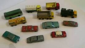 Matchbox Lesney & Husky Car lot Vintage!!