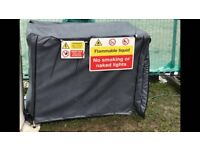 X-large generator cover with optional bespoke signs