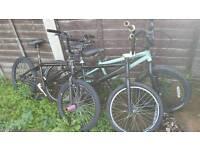3 BMX bikes job lot great to restore