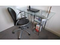 John Lewis Leather Office Chair