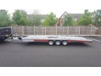 **** hire** Brand new Brian James T6 Car Transporter Trailer 3500 kg gross 5.5m x 2.07m bed *sale**