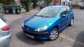 Peugeot 206 Low Miles, Good condition, 2 Owners from New