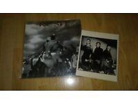 rush - presto vinyl LP + press photo