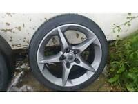 Vauxhall Astra zafira penta alloys 18 inch wheels