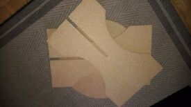 2 Chipboard tables £3 each