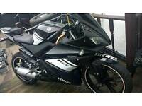 Yamaha YZFR125 mint bike 2012 model black moted tax mint Atherton manchester