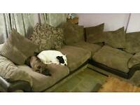 Corner sofa (dfs)