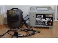 portable arc welder 1400 + accessories