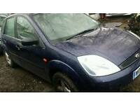Ford Fiesta 2002 to 2009 for breaking