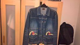 Denim worn 3 or 4 times Evisu Jacket immaculate M/L