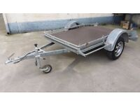 FLAT BED TRAILER FOR QUAD/BIKE