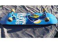 Skateboard wooden