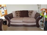 2x2 Fabric Sofas (DFS) - Great condition - £500 for both - CAN DELIVER