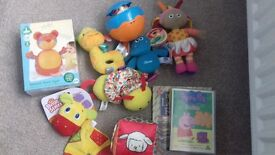 Brand new/nearly new toddler & baby toy bundle