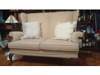 High back Parker Knoll small sofa