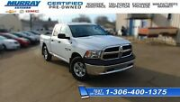 2015 Ram 1500 ST QUAD 4X4 Only 6700 KM, SK TX Pd, like new!