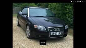 Audi a4 sline convertible automatic