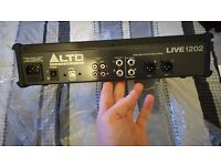 Alto live 1202 12 channel mixer