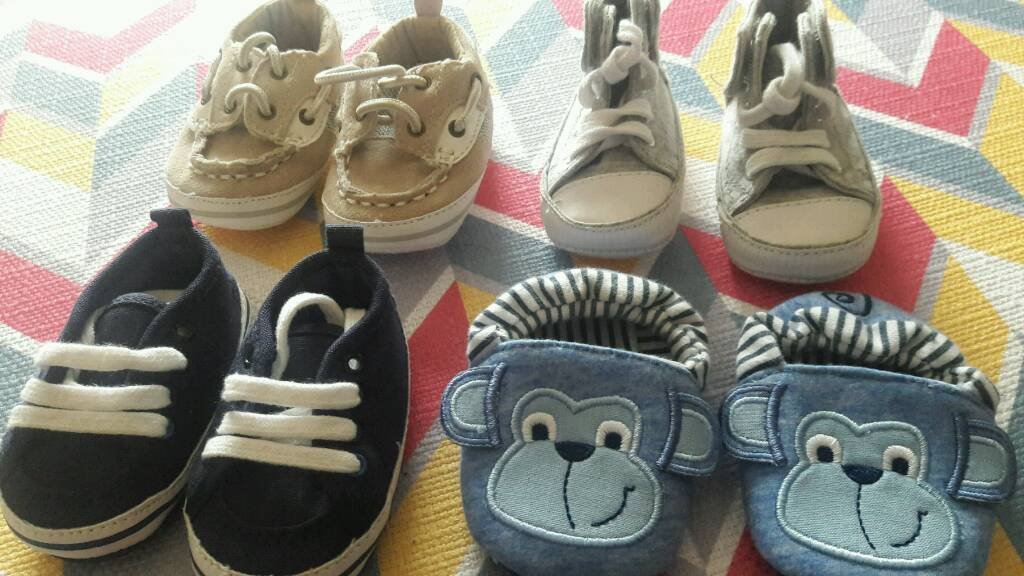 Baby shoes up to 3 months