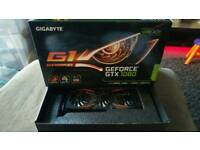Nvidia Gigabyte G1 GTX 1080 GPU graphics card