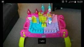 Princess mega bloks table