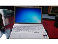 """SONY VAIO LAPTOP 2.20 GHz/LED 15.6"""" SCREEN/ WEBCAM /3GB RAM/320 HDD/ EXCELLENT CONDITION NO OFFERS"""