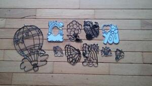 10 stencils to create stained glass crafts